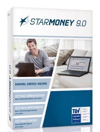 Online-Banking-Software Starmoney 9.0  für 4,90(Versandkosten)