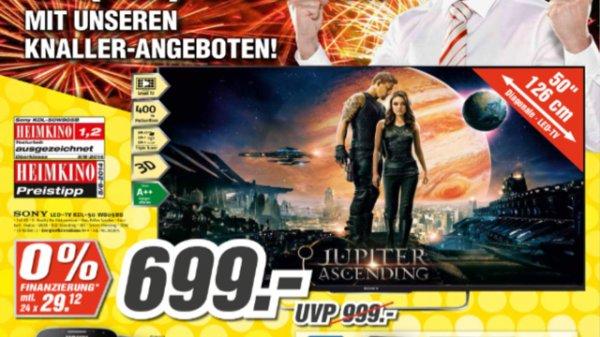 Sony KDL-50W805B (lokal? Medimax Berlin)