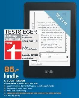 [Lokal Saturn Raum Stuttgart] Kindle Paperwhite 85€ (PVG: 99€)