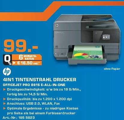 [Saturn Berlin] HP Officejet Pro 8615 (vergleichbar mit 8610)