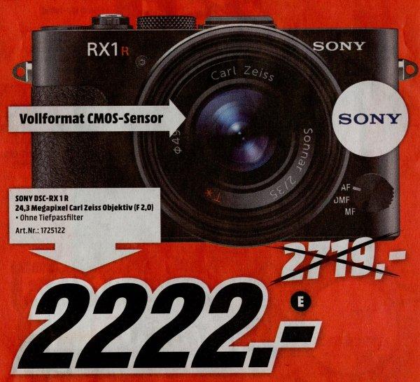 [MediaMarkt Ingolstadt] Sony DSC-RX1R - 2222€ (Idealo: 2709€) und andere Restposten