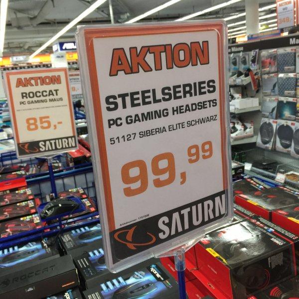 [Lokal Köln] SteelSeries Siberia Elite schwarz/weis @Saturn Hansaring