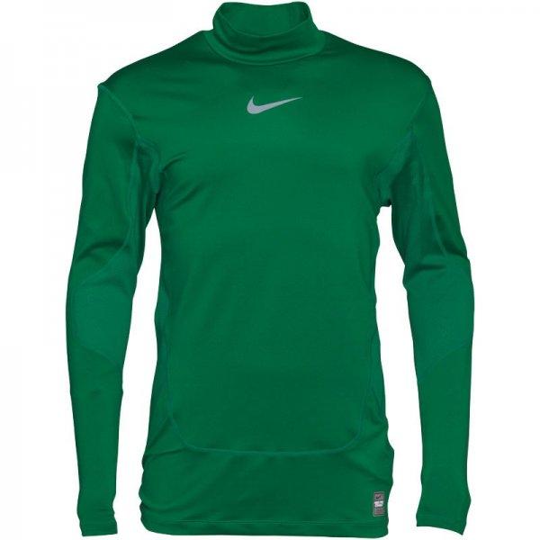 Nike Herren Pro Thermal mit Stehkragen, grün 20 € - ca. 50% Ersparnis [MandMdirect.de]