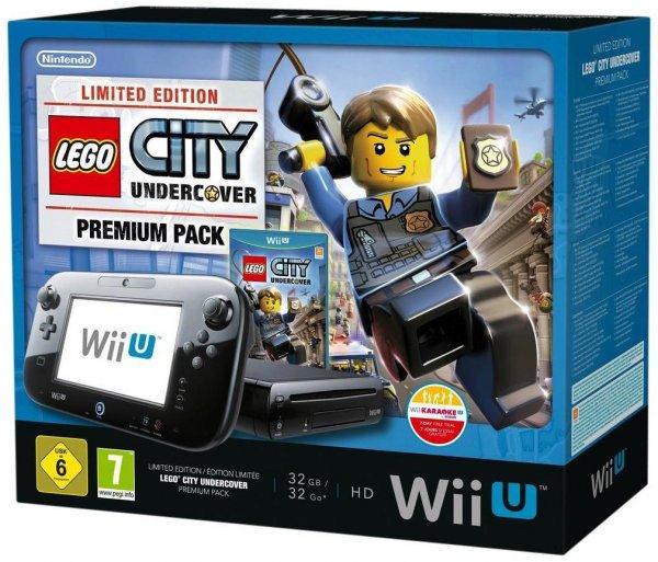 [Lokal - Expert Flösch Lahr / Müllheim / Emmendingen] Nintendo Wii U Premium Lego City Bundle, 32 GB
