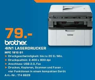 [Saturn Berlin] Brother MFC 1810 G1