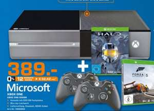 [lokal Saturn Magdeburg] Xbox One + 2. Controller + Forza 5 + Halo Master Chief Collection für 389€