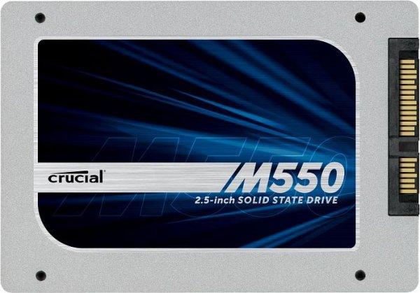Crucial M550 256GB SSD für 90,89 € & 128GB SSD für 54,89 € (mit 5€ Newsletter Gutschein)