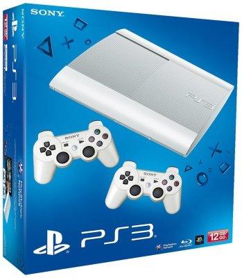Sony Playstation 3 12 GB weiß + 2 Controller als B-Ware