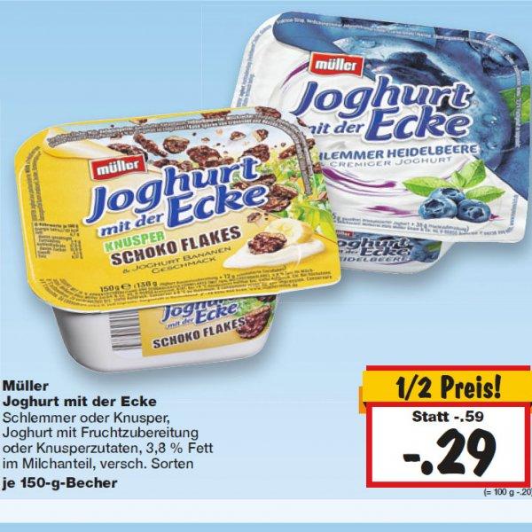Müller Joghurt mit der Ecke KW 02 [Kaufland]