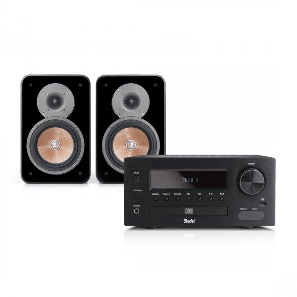Teufel Kombo 42 - Mini-Stereo-Anlage in HiFi-Qualität