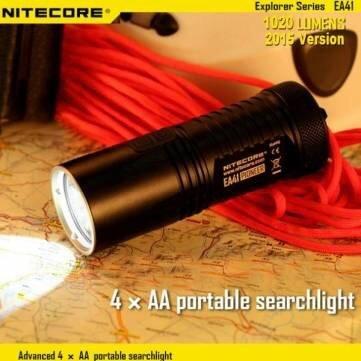 [banggood.com] Nitecore EA41 CREE XM-L2 U2 Taschenlampe (2015er Version)
