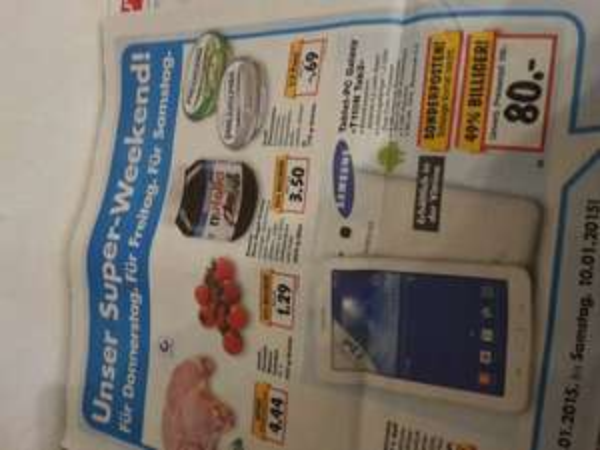 [Kaufland,  Lokal?] Samsung Galaxy Tab 3 lite