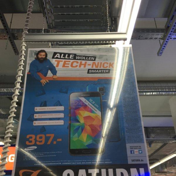 Samsung S5 für 397,- in allen Farben im Saturn Am Alex in Berlin