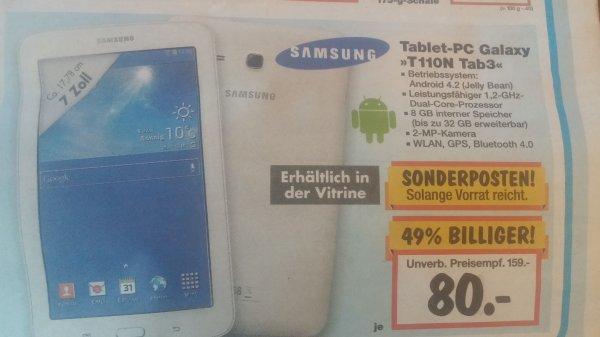 Samsung Galaxy Tab 3 für 80 €