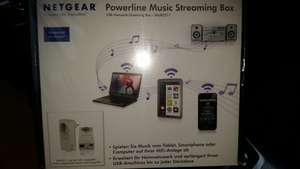 [Lokal MM Stade] Netgear Powerline Music Streaming Box XAUB2511-100GRS