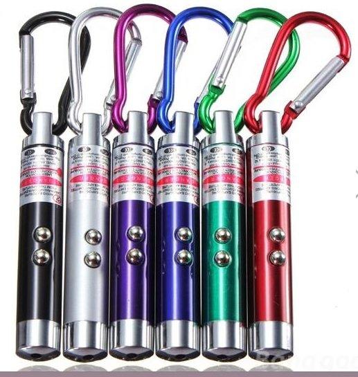 @ Banggood.com, 4 in 1 Laserpointer 1,32€ inkl. Versand in 6 verschiedenen Farben, Laser, LED, UV-Licht, Schlüsselanhänger