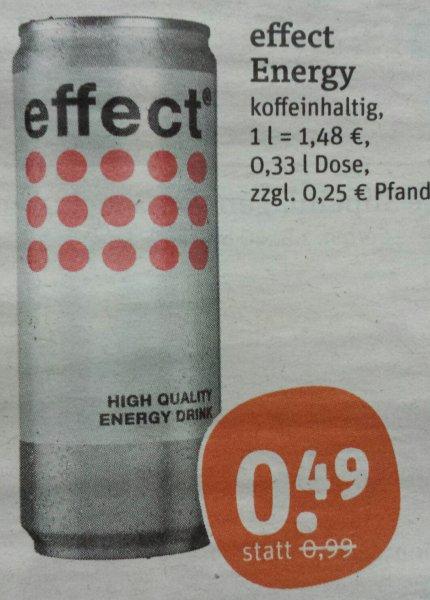 [TEGUT] Effect Energy 0,33 l für 0,49 Euro (09.+10.01)