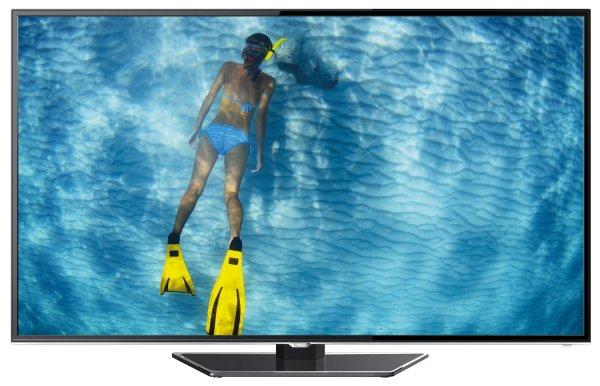TCL L48S4603DS 48 Zoll 3D-LED-TV, EEK A+ (Full HD, 100Hz, DVB-C/T, Smart TV, WiFi, DLNA, HbbTV, 3x HDMI, CI+, 2x USB)