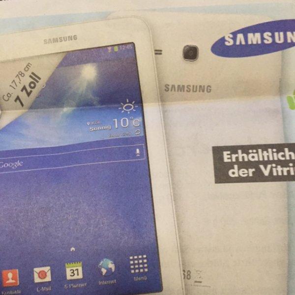 Samsung Galaxy Tab 3 T110N - Kaufland Radolfzell