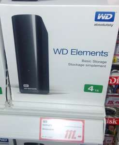 [Lokal Magdeburg] Western Digital Elements Desktop 4TB USB 3.0 - 111€ - [Media Markt]