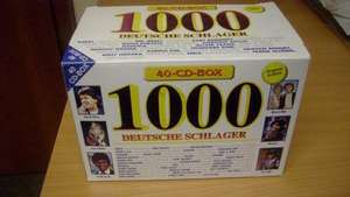 Amazon: 1000 Deutsche Schlager Box-Set ( 40 Cds)  Nur 9,89 €