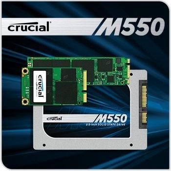 [Ebay] Crucial M550 512GB SSD M.2 für 210€ - 20€ / 8,5% unter Idealo