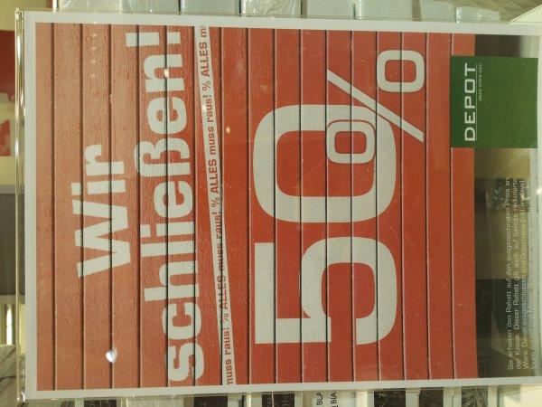 Bochum - Depot Schließung 50% auf Alles