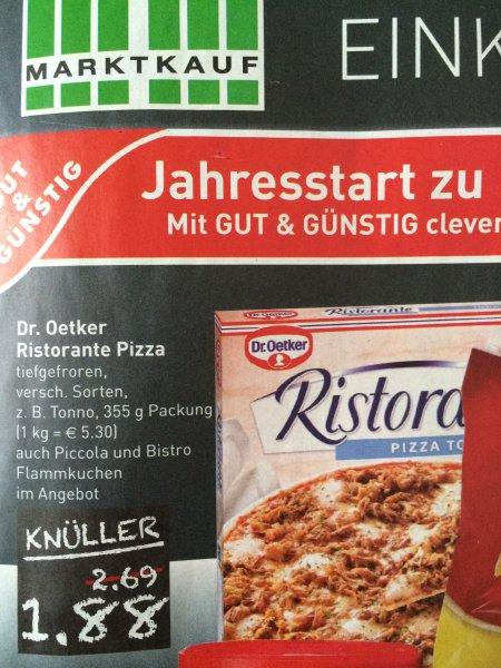 Dr. Oetker Ristorante Pizza für 1,88€