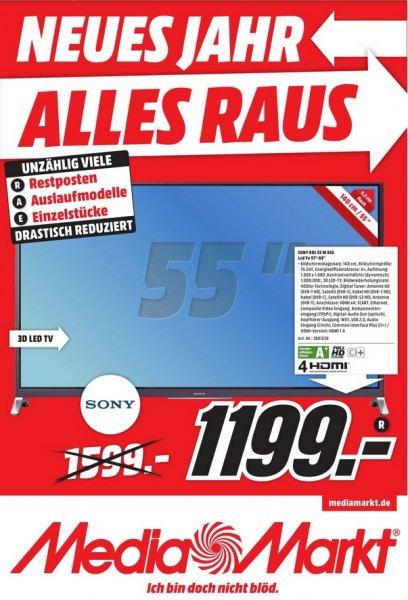 Sony KDL-55W955B für 1199€ LOKAL @ Mediamarkt Neuss