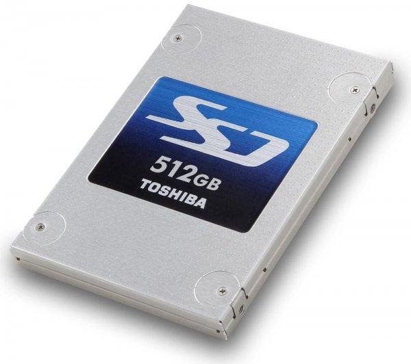 Toshiba HG5d 512GB SSD, 9.5mm, SATA 6Gb/s (THNSNH512GBST) für 146€ bei Amazon