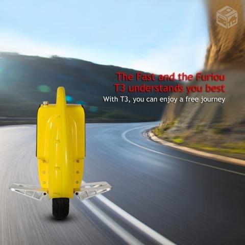 Geniale Idee Monowheel TG-T3 mit Segway ähnlicher Steuerung Topspeed von 18 Km/h für 210,25 € von Banggood