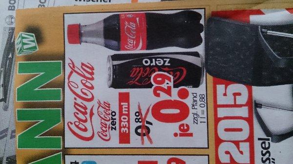 Bundesweit Wreesmann Coca Cola / -Zero Dosen? zum Bestpreis