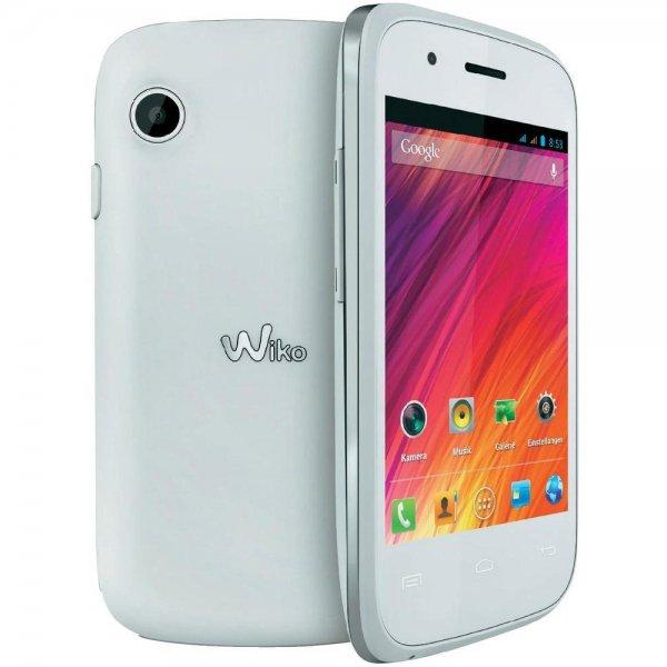 Wiko Ozzy Weiß Dual-Sim Smartphone für 42,72€ inkl. Versand @Conrad