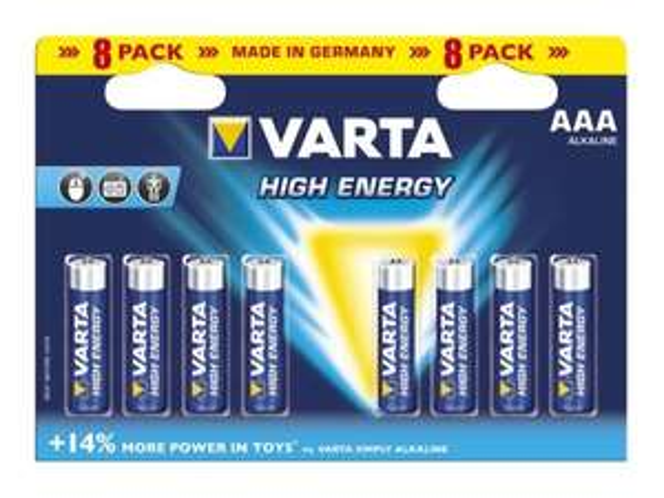 [lokal Nürnberg ev. Bundesweit?]8er Pack AAA VARTA ENERGY Batterien via Coupies @Kaufland