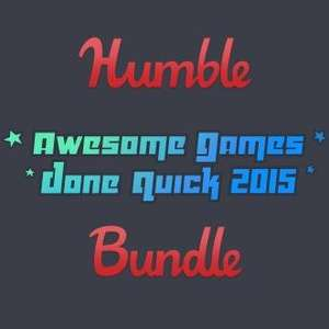 [Steam] Humble Awesome Games Done Quick 2015 Bundle