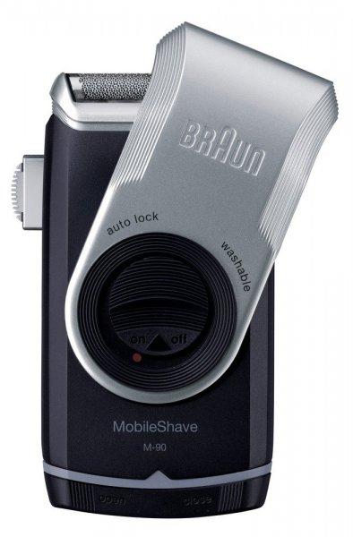 Braun MobileShave M90 Rasierer ( für die Reise u. zu Hause) inkl. Vsk für 15,99 € > [zackzack.de] > Flashzack