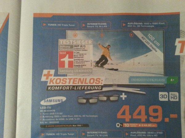 Samsung LCD-TV UE 40 H 6470