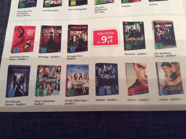 [Thalia] Diverse DVD Staffel für je 9,99€