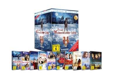 Die große Weihnachtszauber Edition (10 DVDs) für 33€ bei Saturn.de