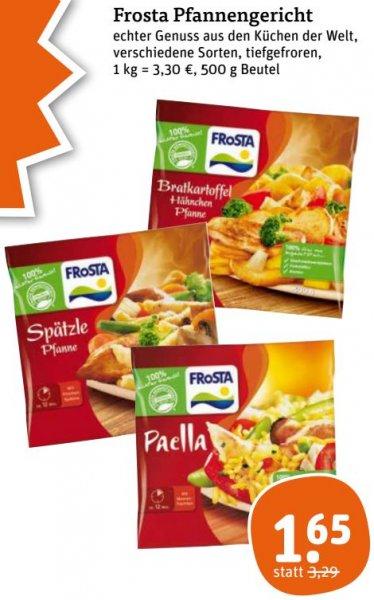 Frosta Pfannengerichte für 1,65€ statt 3,29€. 50% günstiger! [tegut]