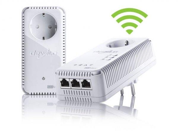 Devolo dLAN 500 AV Wireless+ Starter Kit mit 2x Powerline Adapter bei mein Paket *B-Ware