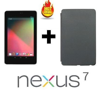 Asus Nexus 7 (2012) 16 GB black + Schutzhülle (Refurbished) für 79,99€ @DealClub