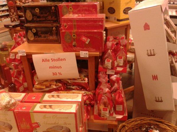 [Lokal Karstadt (Perfetto - feine Kost) Mainz] 30-50% Rabatt auf Weihnachtsgebäck und -süßigkeiten