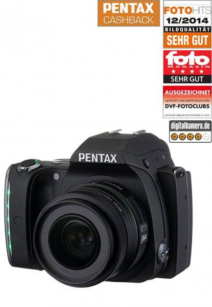 Brands 4 friends PENTAX K-S 1 + 35 mm Objektiv 499 €! (+ 6,90 Versand) I(dealo 530 €)  + 50 € Gutschrift bei Ricoh + Gratis SD Karte (bei Bestellung bis zum 10 Januar*)