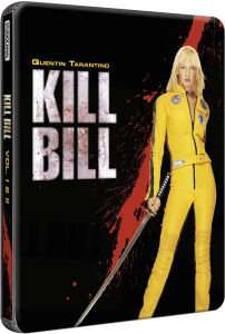 Kill Bill: Volumes 1 and 2 - Limited Edition Steelbook (Blu-ray) für 11,79€ @Zavvi