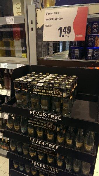 Fever tree tonic 0,2l versch. Sorten bei REWE in Ffm Niederrad