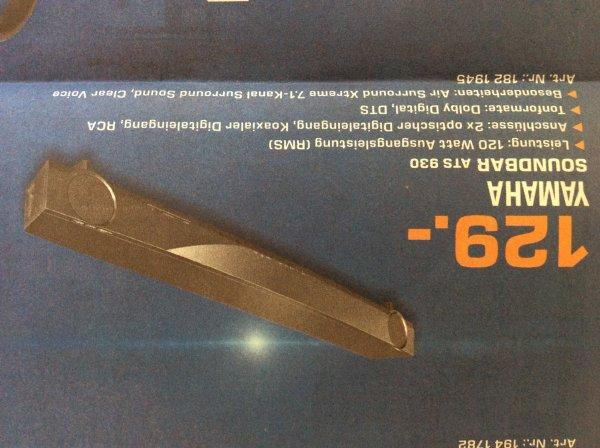 [Saturn Ingolstadt] Soundbar Yamaha ATS 930 (wohl YAS 93) 129 Euro