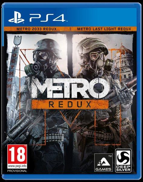 Metro Redux (One/PS4) für 21,25 EUR inkl. VSK @base.com (via Chillmo)