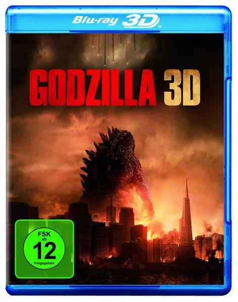 [Saturn.de] Godzilla 3D [Blu-ray] für 12,99€ VSK-frei