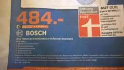 [LOKAL] Saturn Hannover - Bosch WTW 86271 - Wärmepumpentrockner für 484€